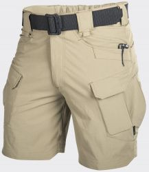 "Spodnie OUTDOOR TACTICAL SHORTS® 8.5"", VersaStretch® beżowe"