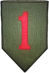 1st Infantry Division, twill