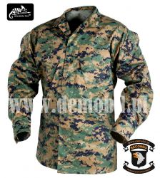 Bluza USMC, PolyCotton Twill, USMC digital woodland