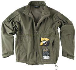 Bluza COMMANDER Shark Skin WINDBLOCKER olive green