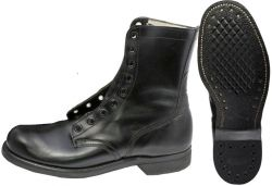 McNamara Leather Combat Boots