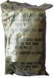 LRRP ration III type, menu no 3