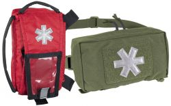 MODULAR INDIVIDUAL MED KIT® Pouch, Cordura®, olive green