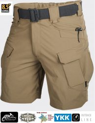 "Spodnie OUTDOOR TACTICAL SHORTS® 8.5"", VersaStretch®, mud brown"